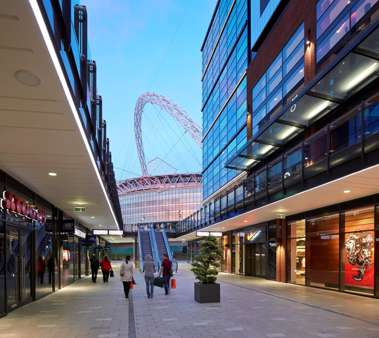 THE LONDON DESIGNER OUTLET, IMAGE: LESLIE JONES