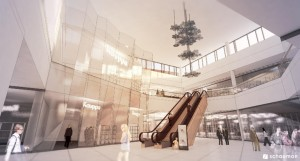 SOUTHWEST FINLAND'S LARGEST SHOPPING CENTER, KAUPPAKESKUS MYLLY, IS UNDERGOING A MASSIVE EXTENSION SET TO OPEN FOR CHRISTMAS 2015. IMAGE: SHOPPING CENTRE MYLLY
