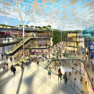 BENOY, ONE OF THE WORLD'S PREEMINENT RETAIL ARCHITECTURE FIRMS, HAS BEEN SELECTED TO DESIGN THE PROJECT. IMAGE: KLÉPIERRE