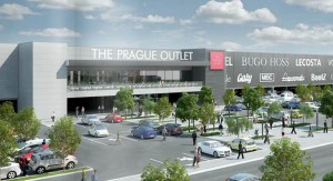 THE PRAGUE OUTLET IS SET TO OPEN NEXT YEAR NEAR PRAGUE'S VACLAV HAVEL INTERNATIONAL AIRPORT. IMAGE: BW GROUP