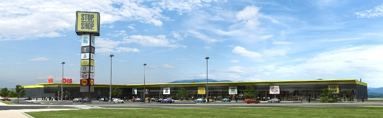 In early May, Immofinanz Group opened the first Stop.Shop. retail park in Cacak, Serbia. Image: Immofinanz Group