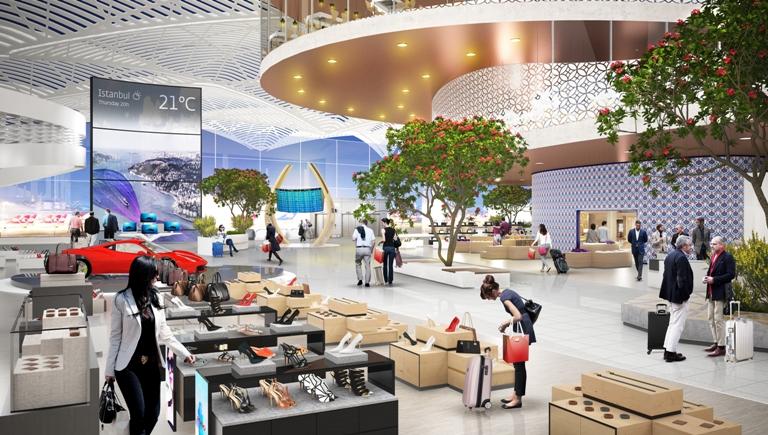 Airport Istanbul. Image: Heinemann