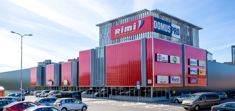 DomusPro next to Ukmerges Street. Image: Vertas