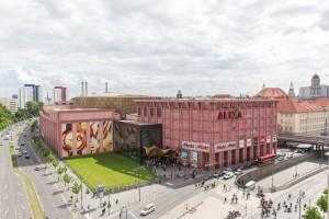 Seven million tourist visitors annually stroll through Alexa on Berlin's Alexanderplatz. Image: Sonae Sierra