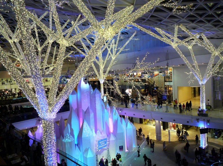 Westfield London. Image: First Christmas