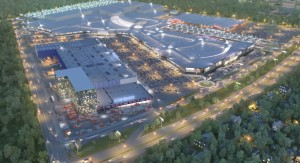 Lavina Mall will have around 300 stores and 40 restaurants. Image: UTG