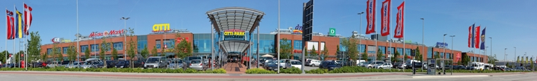 According to the report, the most successful German retail park is Citti Park Flensburg. Image: Citti