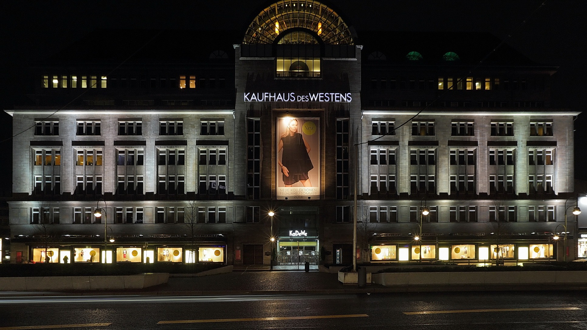 kaufhaus des westens kadewe the historic berlin department store to be renovated by oma. Black Bedroom Furniture Sets. Home Design Ideas