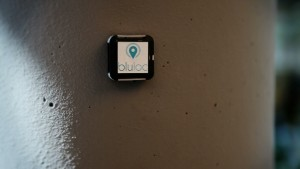 """""""Beacon""""; Credit: Match2Blue. The iBeacon technology is based on a transmitter /receiver principle. Small transmitters are placed in a space. They transmit signals in fixed intervals. If a receiver—usually a smartphone with an app installed on it configured to receive the signal—comes within range of the transmitter, communication occurs."""