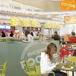FoodCourt PhoenixCenter; Credit: ECE The space devoted to foodservice in shopping centers managed by ECE has doubled in the last decade.