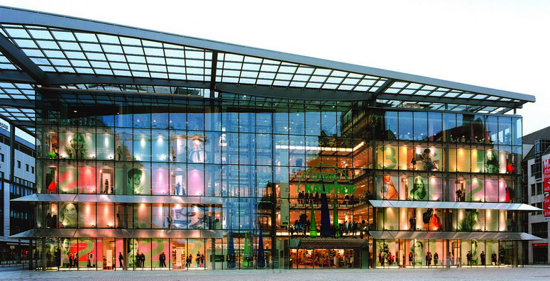 Galeria Kaufhof has begun investing heavily in its future. The photo shows its department store in Chemnitz. Credit: Galeria Kaufhof