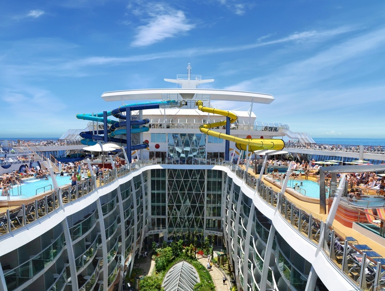 """Participants will enjoy all the entertainment opportunities offered by the """"Harmony of the Seas"""" during the cruise into the world of shop dramaturgy on October 20 to 23. Credit: Peter U. Geisler / RCL Cruises"""