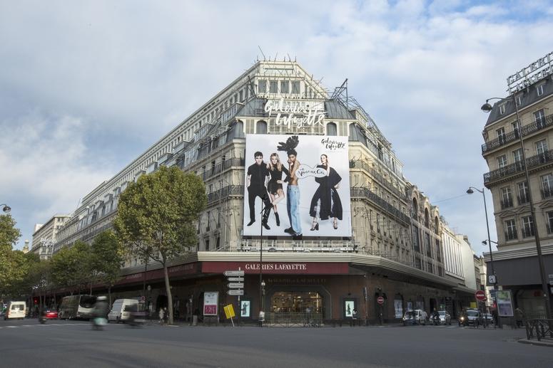 Boulevard Haussmann. Credit: Galeries Lafayette