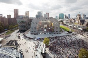 Markthal shopping center in Rotterdam. Image: Corio