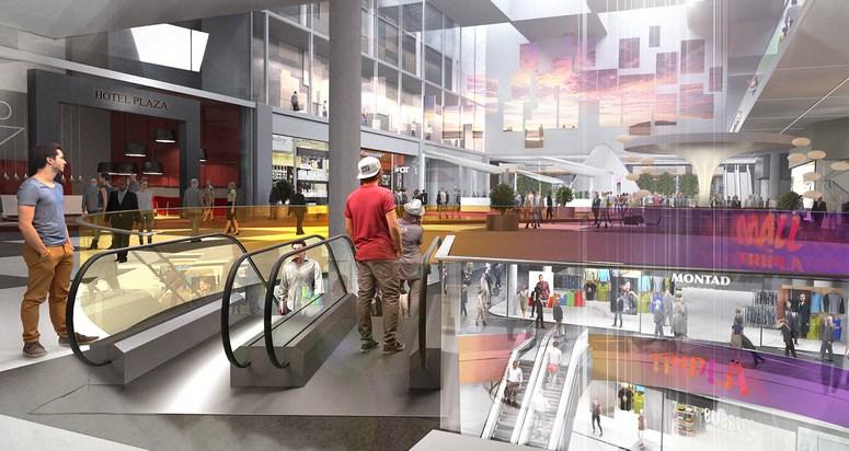 Mall of Tripla Image: YIT