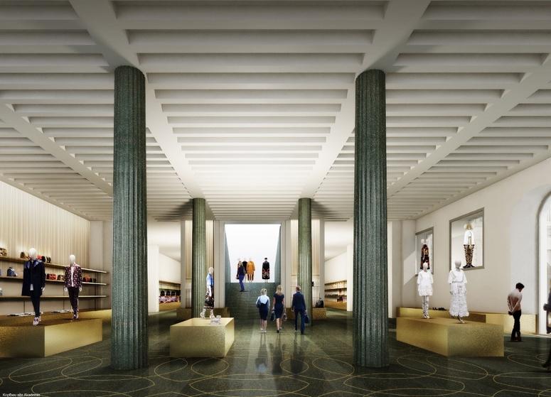 Alte Akademie Munich, Germany. Image: SIGNA