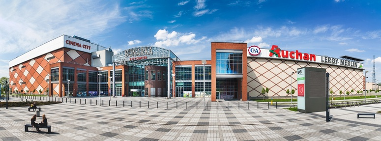 Bonarka shopping center in Krakow. Image: TriGranit