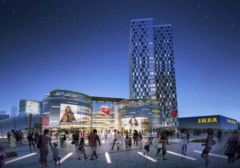IKEA Centres recently confirmed its fourth project in China, in Changsha in Hubei province. Image: Ikea Centres