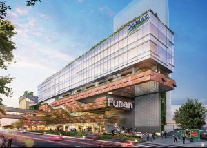 Funan. Presented by CapitaLand.