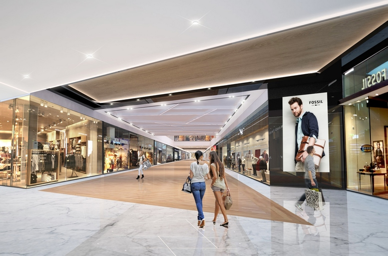 Gropius Passagen is still the largest shopping center in Berlin and is currently being redeveloped. Image: TH Real Estate