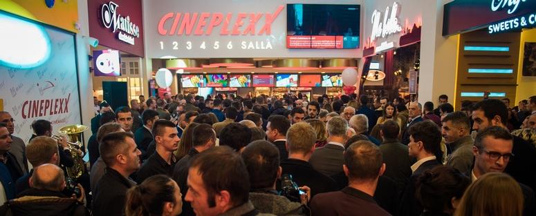 Cineplexx in Pristina, the capital of the Republic of Kosovo. Image: Cineplexx