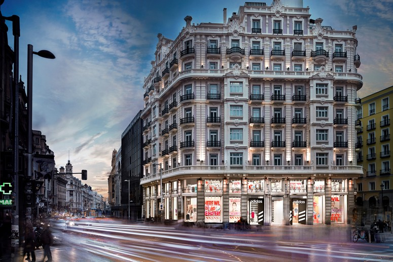 Triuva acquires adidas flagship store in central madrid Best hotels in central madrid