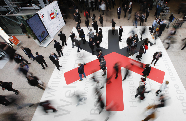 Impression of EuroShop, the Dusseldorf-based trade fair for the retail trade. Image: Messe Düsseldorf