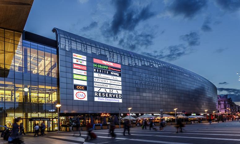 The 47,500-sq-m (GLA) shopping center Galeria Katowicka. Image: Meyer Bergman