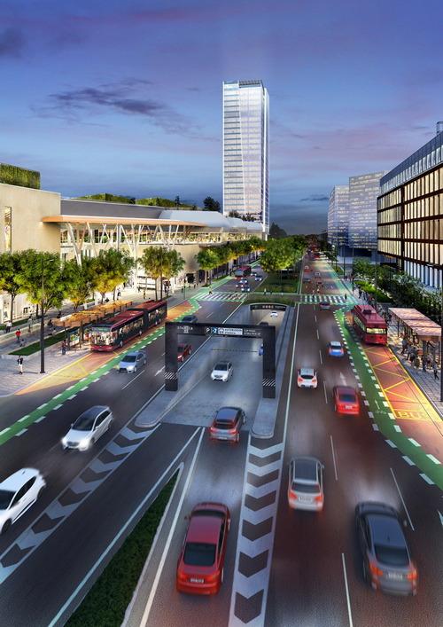 Stanica NIVY Shopping Center Image: HB Reavis