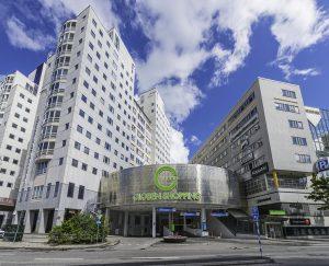 Globen Shopping Center, Stockhom, Sweden. Image: Apcoa