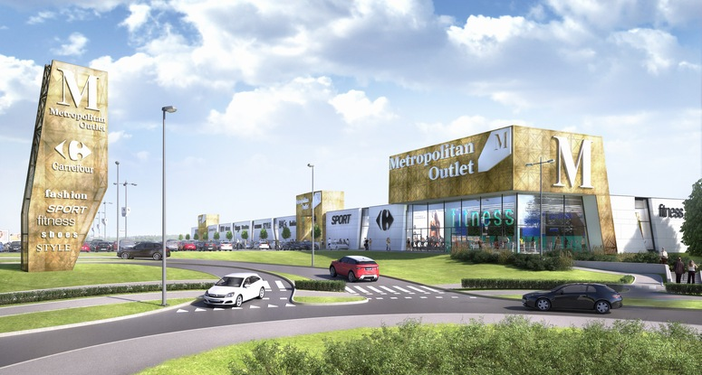 Neinver will manage Carrefour Poland's Metropolitan Outlet in Bydgoszcz, which is scheduled to open in spring 2018. Image: Neinver