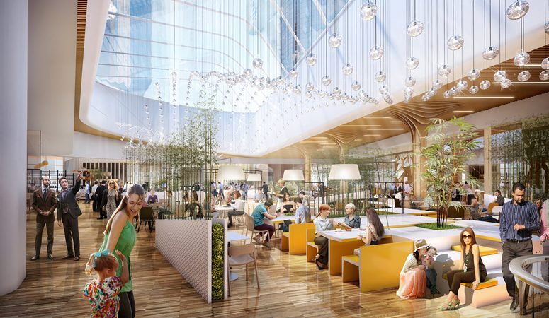 citylife shopping district in milan to open on 30 november 2017
