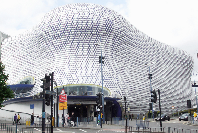 Bullring in Birmingham, Polygone Riviera the South of France, and Trinity Leeds are the favorites of Jacques Sinke, CEO of reteam international. Image: Birmingham City