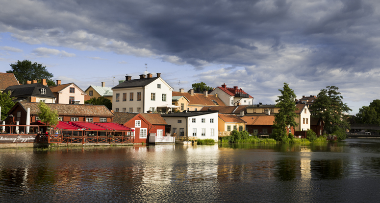 Eskilstuna is the largest city in the Södermanland province in Sweden's southeast. Image: Per Groth