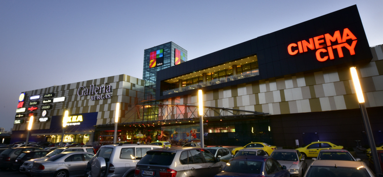 With 115 shops, Galleria Burgas is the dominant mall in the eponymous Bulgarian city on the Black Sea. Image: MAS