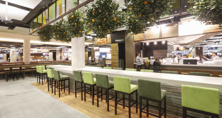 There are major issues and challenges that landlords need to consider when expanding, adapting, or innovating their foodservice component. Image: mfi