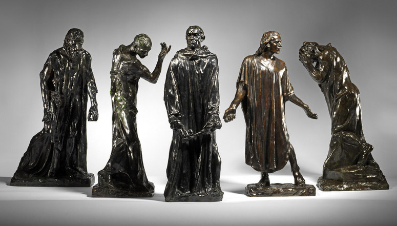 Auguste Rodin, Burghers of Calais. Image: McArthurGlen