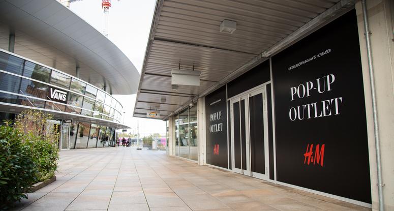 ec7865f534 H M opens pop-up outlet at the Designer Outlets Wolfsburg