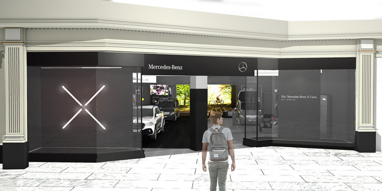 fdda5ff46a Mercedes-Benz Vans celebrates with intu as it opens first pop-up store