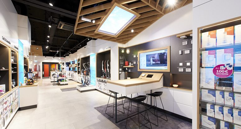 Bosch's First Monolabel Store in Europe Opened - ACROSS | The ... on chicago fire house, the originals house, john deere house,