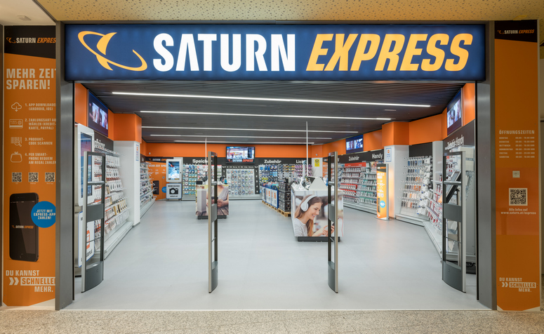 SATURN Express at the Sillpark shopping centre