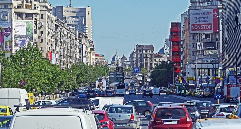 View on Bucharest