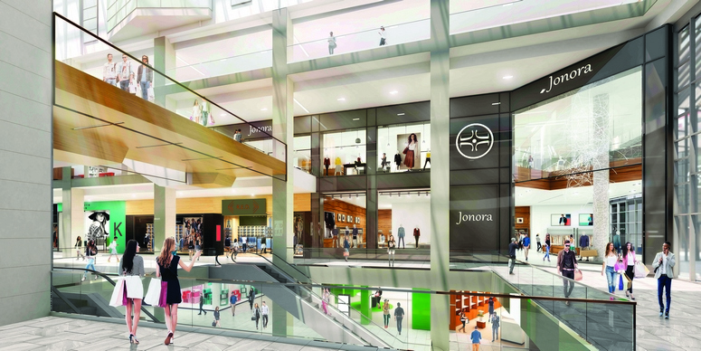redevelopment project for the Montreal Eaton Centre.