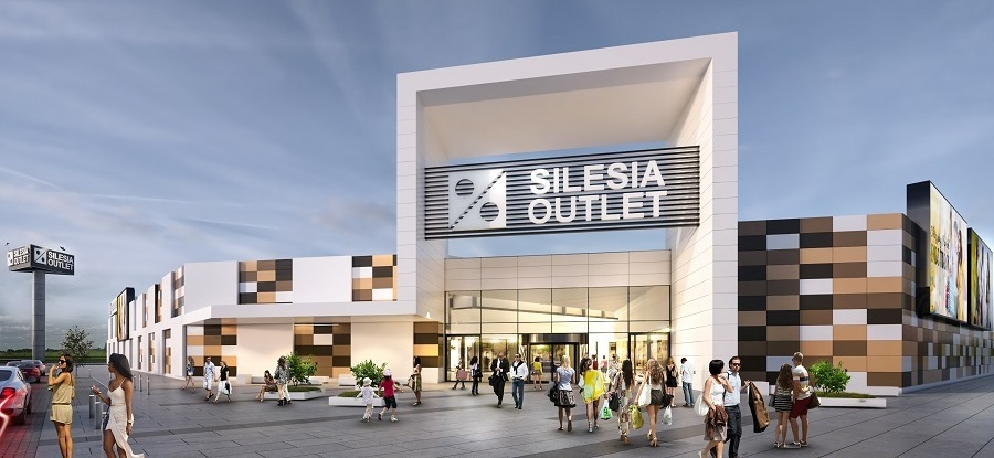 6B47 Builds Outlet Center Silesia In Gliwice