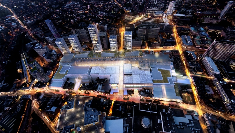 The redevelopment of the Whitgift mall by the Croydon Partnership – a joint venture between Westfield and Hammerson