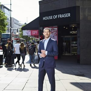 Alex Williamson, CEO of House of Fraser.