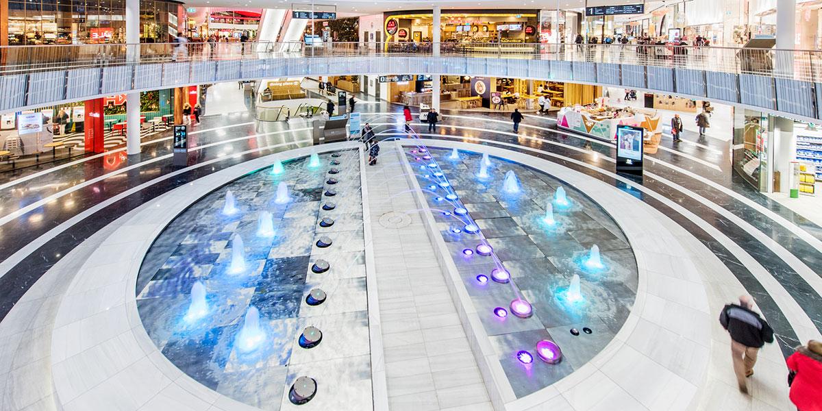Mall of Scandinavia, Credit: Unibail-Rodamco Westfield